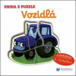Vozidlá Kniha s puzzle - Vera Brüggemannová