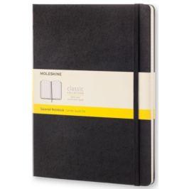 Moleskine - zápisník - čtverečkovaný, černý XL