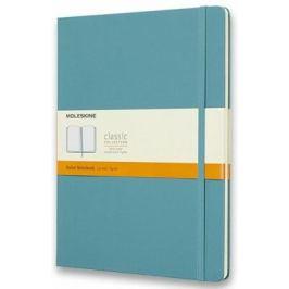 Moleskine: Zápisník tvrdý linkovaný modrozelený XL