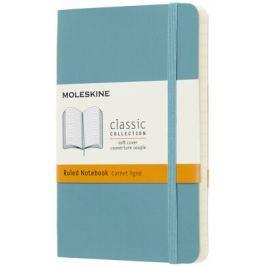 Moleskine - Zápisník měkký linkovaný modrozelený S