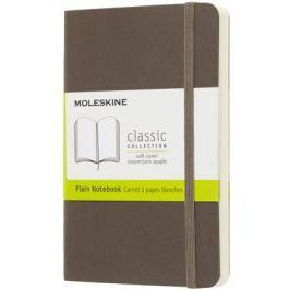 Moleskine - Zápisník měkký čistý hnědý S