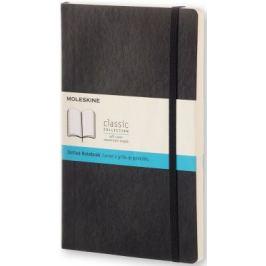 Moleskine: Zápisník měkký tečkovaný černý L