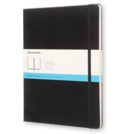 Moleskine - zápisník - tvrdý, tečkovaný, černý XL