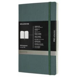 Moleskine - diář-zápisník Professional - zelený, měkký L