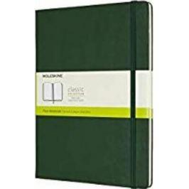 Moleskine - zápisník - čistý, zelený XL