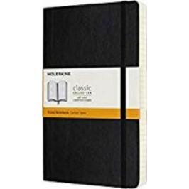Moleskine Expanded - zápisník - linkovaný, černý L