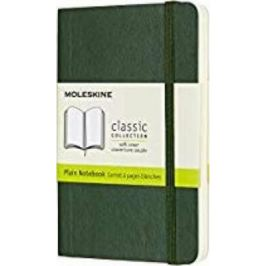 Moleskine - zápisník - čistý, zelený S