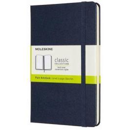 Moleskine: Zápisník tvrdý čistý modrý M