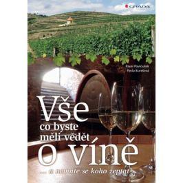 Vše, co byste měli vědět o víně.... - Pavel Pavloušek, Pavla Burešová - e-kniha