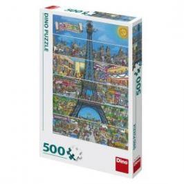 Puzzle Eiffelova věž 500 dílků