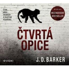 Čtvrtá opice (audiokniha) - J. D. Barker - audiokniha