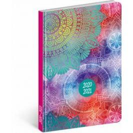 18 měsíční diář Petito – Mandala 2020/2021