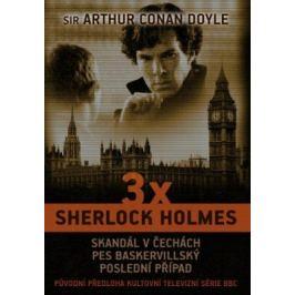 3 x Sherlock Holmes - Arthur Conan Doyle - e-kniha
