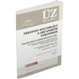ÚZ 1371 Předpisy související s občanským zákoníkem, Veřejné rejstříky
