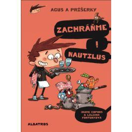 Agus a príšerky 2 Zachráňme Nautilus! - Jaume Copons - e-kniha
