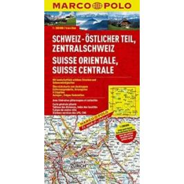 Švýcarsko 2 - východ/mapa