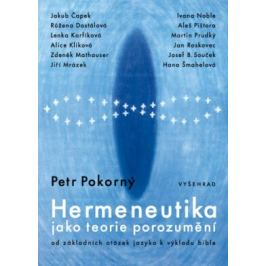 Hermeneutika jako teorie porozumění - Petr Pokorný - e-kniha
