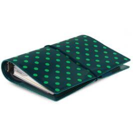 Diář Filofax A6 - Domino, tmavě zelený
