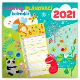 Rodinný plánovací kalendář 2021