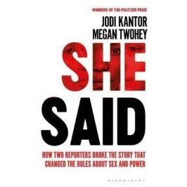 She Said - Jodi Kantor, Megan Twohey