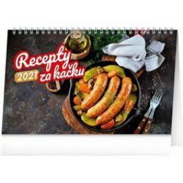 Stolní kalendář Recepty za kačku 2021, 23,1 × 14,5 cm