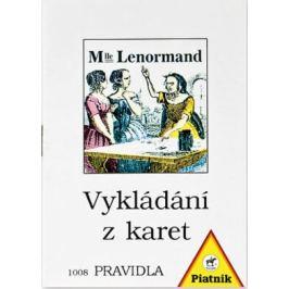 Vykládání Lenormand - Pravidla