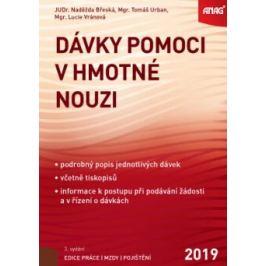 ANAG Dávky pomoci v hmotné nouzi 2019 - Mgr. Tomáš Urban, Mgr. Lucie Vránová, JUDr. Naděžda Břeská
