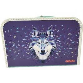 HERLITZ dětský Kufřík - Wild animals - Vlk