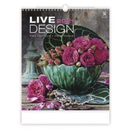 Kalendář 2021 nástěnný Exclusive: Live Design, 450x520 - Koníčková Klára, Alena Hrbková