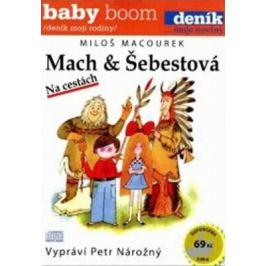 Mach a Šebestová na cestách - Miloš Macourek - audiokniha