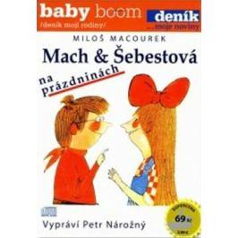 Mach a Šebestová na prázdninách - Miloš Macourek - audiokniha
