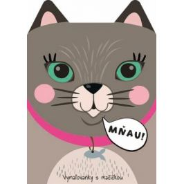 Vymaľovanky s mačičkou Mňau!
