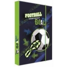 Box na sešity A4 Fotbal
