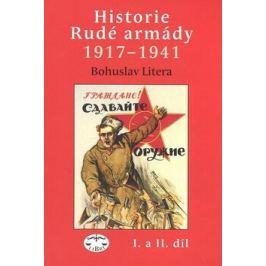 Historie Rudé armády 1917-1941, I. a II. - Bohuslav Litera