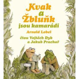 Kvak a Žbluňk jsou kamarádi - Arnold Lobel - audiokniha