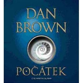 Počátek - Dan Brown - audiokniha