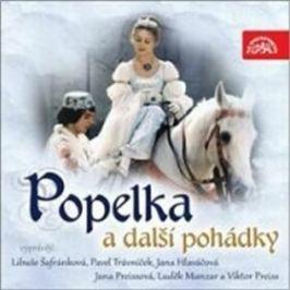 Popelka a další pohádky - kolektiv autorů - audiokniha