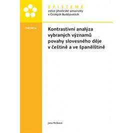 Kontrastivní analýza vybraných významů povahy slovesného děje v češtině a ve španělštině - Jana Pešková