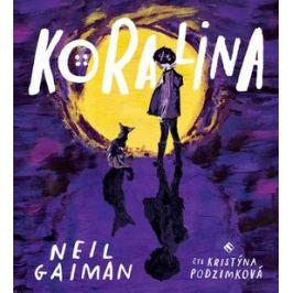 Koralina - Neil Gaiman - audiokniha