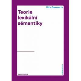 Teorie lexikální sémantiky - Dirk Geeaerst
