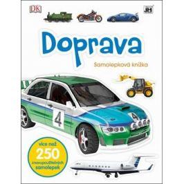 Doprava - Samolepková knížka