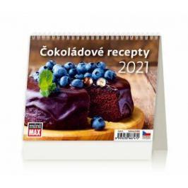 Kalendář 2021 stolní: MiniMax Čokoládové recepty, 171x139