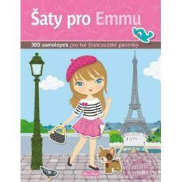Šaty pro EMMU – Kniha samolepek