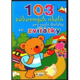 103 záb. úkolů pro školáky Zvířátka Předškoláci