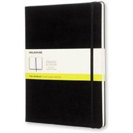 Moleskine: Zápisník tvrdý čistý černý XL