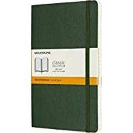 Moleskine - zápisník - linkovaný, zelený L