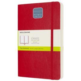 Moleskine: Zápisník Expanded měkký čistý červený L