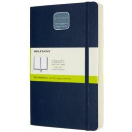 Moleskine: Zápisník Expanded měkký čistý modrý L
