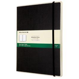 Moleskine: Paper tablet tvrdý čistý černý XL 01
