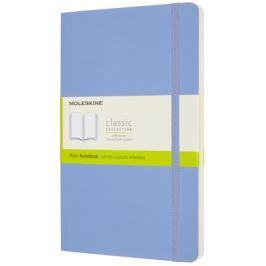 Moleskine: Zápisník měkký čistý sv. modrý L